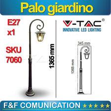 PALO PALETTO GIARDINO LAMPIONE LED STRADALE PLAFONIERA LANTERNA 2 MT V-TAC