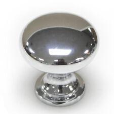 Door Knobs Cabinet Handles Cupboard Drawer Kitchen Stainless Steel DIY Silver UK