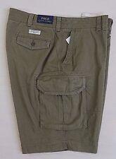 Polo Ralph Lauren Gellar Fatigue Cargo Military Army Classic Chino Shorts Tall