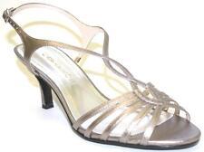 Women's Shoes Caparros SABRINA Dress Sandal Strappy PROM WEDDING MUSHROOM Met.