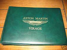 1993 1994 ASTON MARTIN VIRAGE VOLANTE OWNERS MANUAL NOS