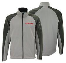 NCAA Men's Nebraska Cornhuskers Tonal Soft Shell Jacket, Grey