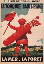 190446 GOLF TOUQUET PARIS PLAGE FORET SPORTPrint Poster Affiche