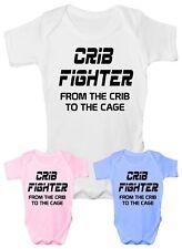 Crib Fighter  UFC/MMA  Babygrow Babies Boy Girl Vest