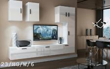 FUTURE 23 Ensemble Mobilier Salon Moderne Meuble Murale Rangement Chambre Séjour