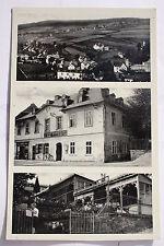 13614 AK GRÜN bei Asch in Böhmen  Restaurant zum Blauen Engel 1936