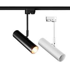 LED COB Ceiling Track Light Picture Orbit Rail Lamp Spotlight Jewelry Store Cafe