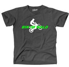 T-shirt bin en el bosque Motocross Enduro trial siviwonder