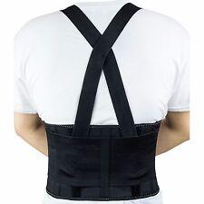 RK Lift Back Support Brace Belt with Dual Shoulder Adjustable Strap -RK-BST11