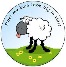 SHEEP ON THE GREEN - FUNNY / JOKE CAR TAX DISC HOLDER - NEW *REUSABLE* GIFT XMAS