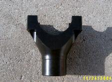 """New 9"""" Ford Short Narrow Pinion Yoke - 28 Spline - 1310 U-Joint - New U-Bolts"""