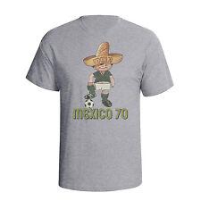 Mexico 70 Fußball WM Maskottchen Juanito Herren T-Shirt Distressed Style T59