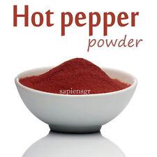 CAYENNE HOT CHILLY PEPPER POWDER 40g - 190g (1.4 - 6.7oz) GROUND FOOD SEASONING