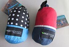 Nwt Eco Trekker Travel Hammock & Carabiners Choose Blue Dot or Red Blue Striped