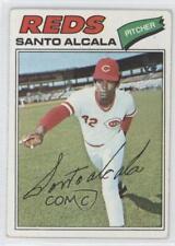 2014 Topps 75th Anniversary Buybacks #1977-636 Santo Alcala Cincinnati Reds Card