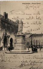 #PIACENZA: PIAZZA CAVALLI 1908
