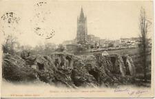 SAINTES les arènes romaines éd bruneau timbrée 1902