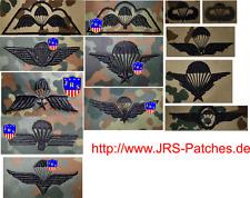 Fallschirmspringer Abzeichen Jumpwings BW US NL F B CA