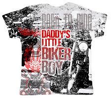 """DF Camiseta para Bebé Estampado INTEGRAL"""" de Daddy Little Motero Niño"""" MOTO"""