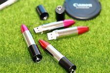 Nouveau Beautiful Nouveauté Rouge à Lèvres Stylo Lecteur Flash Cadeau Memory Stick USB 2.0