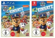 PAW Patrol Im Einsatz | Spiel | NEU & OVP | PlayStation 4 / Nintendo Switch |