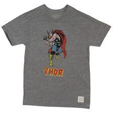 Thor Classic Pose Marvel Distressed Retro Brand Licensed Adult Shirt S-XXL
