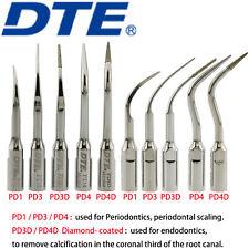 Woodpecker DTE Dental Ultrasonic Scaler Tips Endodontics Periodontal NSK Satelec