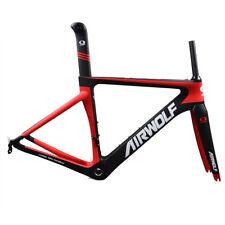 Carbon Road Bike Frame Triathlon Cycling Racing Bicycle Frameset 48/51/54/56cm