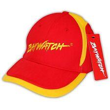 Con Licencia Baywatch ® Rojo / amarillo bordado béisbol cap / Playa salvavidas Sombrero