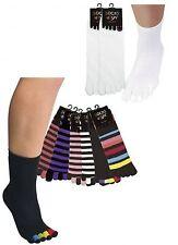 2 Paar Söckchen mit 5 Einzelzehen für Damen und Herren Socken CH 2117