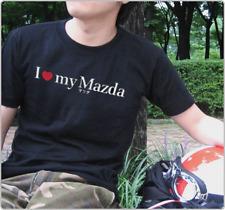 "Japanese JDM style T-shirt ""I Love my Mazda"""