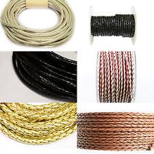 Kunstlederbänder verschiedene Stärken und Farben 10m Grundpreis 0,98 €/m