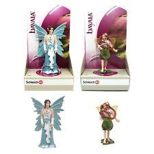 Schleich Bayala Elf Elves Fairy Eyela Chestnut Elf with Companion 70403 70454