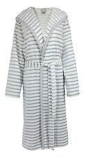 cawö femmes peignoir de bain robe chambre Sauna gris/blanc 6596 76