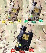 FMA PEQ LA5-C Upgrade Version LED White Light+Green Laser w/IR Lenses BK/DE/FG
