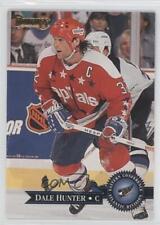 1995-96 Donruss #12 Dale Hunter Washington Capitals Hockey Card