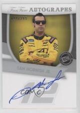 2012 Press Pass Fanfare Autographs Silver SH Sam Hornish Jr Jr. Auto Racing Card