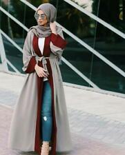Dubai Cardigan Muslim Women Jilbab Vintage Kaftan Islamic Abaya Arab Maxi Dress