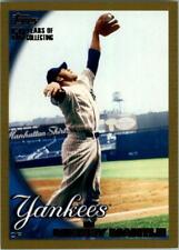 2010 Topps Gold Border Baseball Card Pick