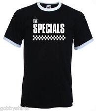 Ska para hombre timbre Tees, Slim Fit, también conocido como La Ofertas especiales, 2 tonos, pequeño a 3xl