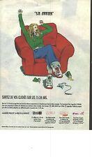 """PUBLICITE ADVERTISING  2007   EUROPE 2  radio  """" le JEUNE"""""""