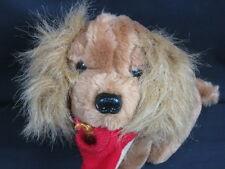 NEW VINTAGE 1987 LADIES ISOTONER ADVERTISING PUPPY DOG SLIPPER PLUSH STUFFED