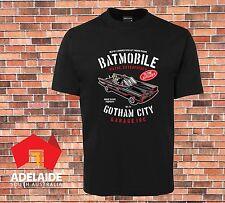 JB's T-shirt Cool Bat Mobile Gotham City Garage INC Batman New Design up to 7XL