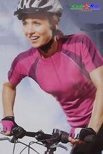 Mujer Camiseta De Bicicleta Culotte Jersey Radshirt Maillot Ciclista E