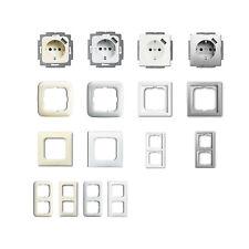 Busch Jäger USB Steckdosen und Rahmen verschiedene Farben frei wählbar