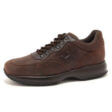 6871U sneaker uomo HOGAN INTERACTIVE TREKKING marrone shoe men