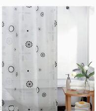 Floral Designer Peva Shower Curtain 180 X 180cm OR 180 X 200cm