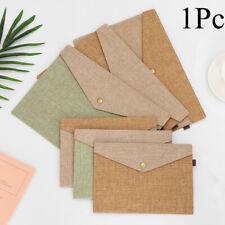 Simple Document Bag Paper Holder Canvas Felt File Briefcase File Folder
