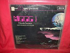 CLAUDE DENJEAN & the MOOG SYNTHESIZER Moog! LP 1970 AUSTRALIA MINT Beatles Dylan