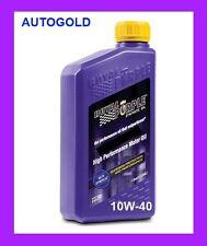 ROYAL PURPLE 10W40 HPS OLIO MOTORE 100% SINTETICO 10W-40 Lubrificante Auto